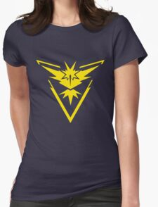 Instinct Team Pokemon Womens Fitted T-Shirt