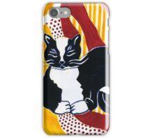 Content Tuxedo Cat iPhone Case/Skin