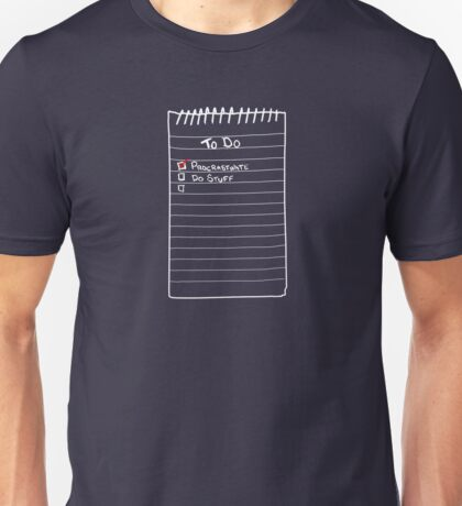 Todo List Unisex T-Shirt