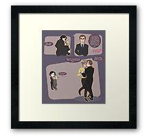 dancing mystrade Framed Print