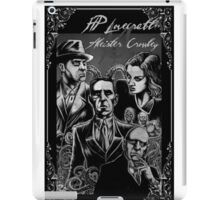 HP Lovecraft vs Aleister Crowley iPad Case/Skin
