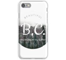 British Columbia Canada iPhone Case/Skin