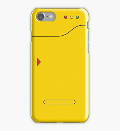 Pokedex - Yellow iPhone Case/Skin