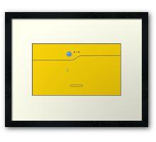 Pokedex - Yellow Framed Print