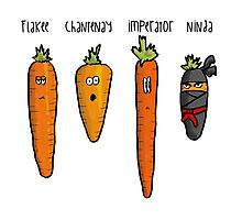 Types of carrot Photographic Print