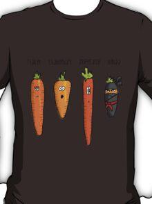 Types of carrot T-Shirt