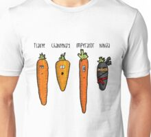 Types of carrot Unisex T-Shirt