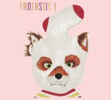Fantastic Mr Fox ASH fox print Kids Tee