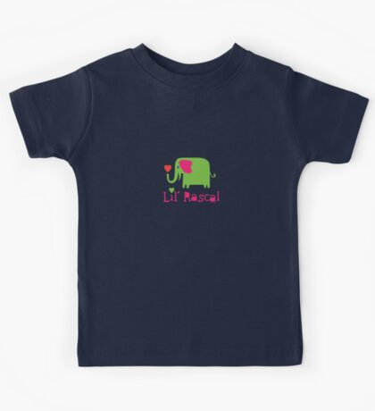 Elephant Lil Rascal green Kids Clothes