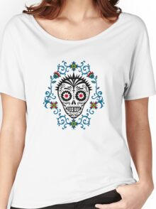 Sugar Skull Voodoo Women's Relaxed Fit T-Shirt