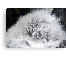 Water Explosion Canvas Print