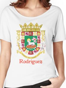 Rodriguez Shield of Puerto Rico Women's Relaxed Fit T-Shirt