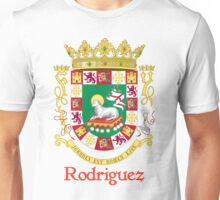 Rodriguez Shield of Puerto Rico Unisex T-Shirt