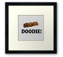 Caddyshack Quote - Chocolate Bar - Doodie! Framed Print