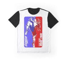 lee sin muay thai fighter thailand martial art sport logo badge sticker shirt Graphic T-Shirt