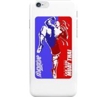 lee sin muay thai fighter thailand martial art sport logo badge sticker shirt iPhone Case/Skin