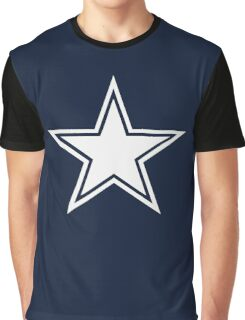 5 Point Star Graphic T-Shirt