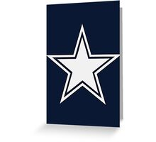 5 Point Star Greeting Card