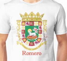 Romero Shield of Puerto Rico Unisex T-Shirt