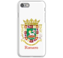 Romero Shield of Puerto Rico iPhone Case/Skin