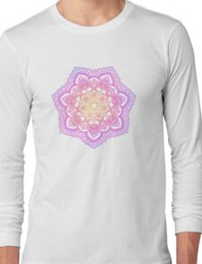 Sunset Mandala Long Sleeve T-Shirt