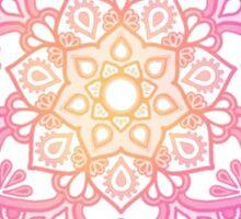 Sunset Mandala Sticker