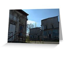 Ghost Town in Ohio. Greeting Card