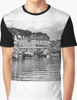 The Fish Quay, Whitby Graphic T-Shirt