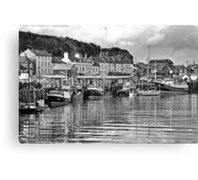 The Fish Quay, Whitby Canvas Print