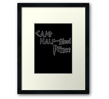 Camp Half-Blood Prince Framed Print