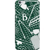Education background.  iPhone Case/Skin