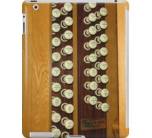 Organ Stops - Exeter Cathedral iPad Case/Skin