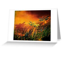 Dragonfly...Towards The Light 2 Greeting Card
