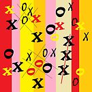 X's and O's by EloiseArt