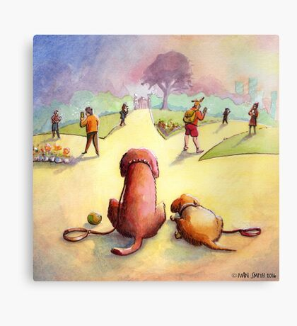 I hate Pokemon Canvas Print