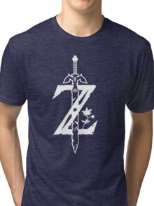 Zelda: Breath of the Wild Shirt Tri-blend T-Shirt