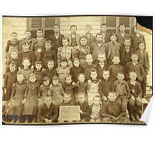 WINTERROWD SCHOOL, EFFINGHAM CO., IL Poster