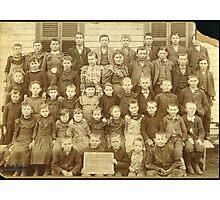 WINTERROWD SCHOOL, EFFINGHAM CO., IL Photographic Print