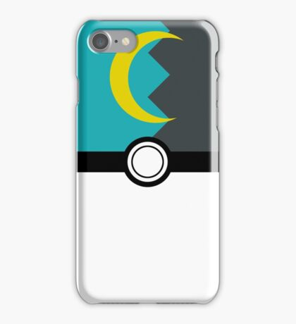 Moon Poke Ball iPhone Case/Skin