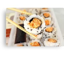 Let Me See That Sushi Roll! Canvas Print