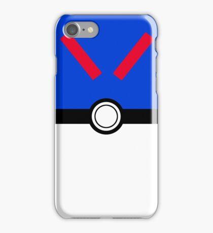 Blue Poke Ball iPhone Case/Skin