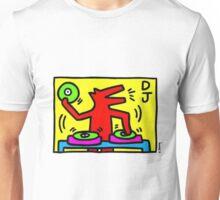 Keith Haring Dj Unisex T-Shirt