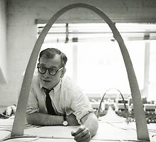 Eero Saarinen Designing the Arch by hourglasssusie