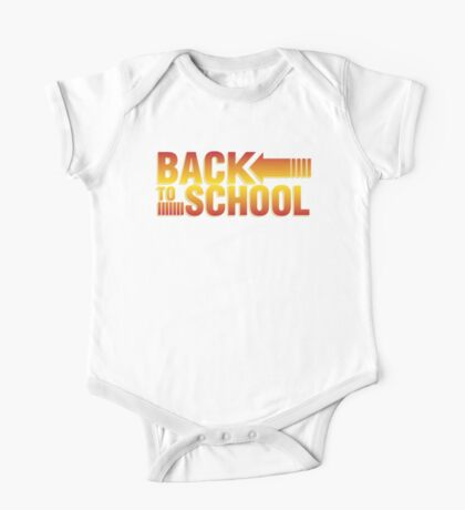 Back To School One Piece - Short Sleeve
