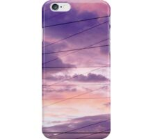 Pink & Purple Clouds/Semi Abstract iPhone Case/Skin