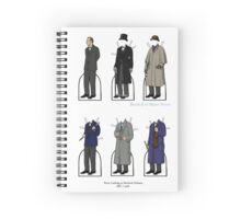 Peter Cushing Paper Dolls Spiral Notebook