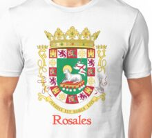 Rosales Shield of Puerto Rico Unisex T-Shirt
