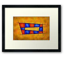 Perpitua V1 - visible infinity Framed Print