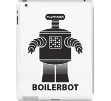BOILERBOT (black) iPad Case/Skin