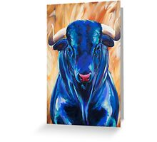 Vincent the Bull Greeting Card